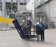 Treinamento In Company de Plataforma Elevatória